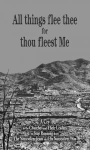 All things flee thee for thou fleest Me