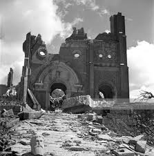 Nagasaki Cathedral after August 9, 1945